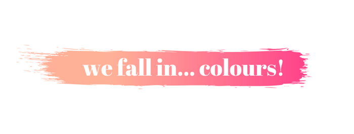 Banner We fall in Colours