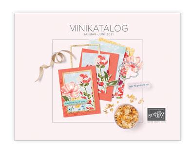 Minikatalog Januar bis Juni 2021, Produkte von Stampin' Up!, basteln, Friedrichsdorf, verkauf Stampin' Up! Produkte
