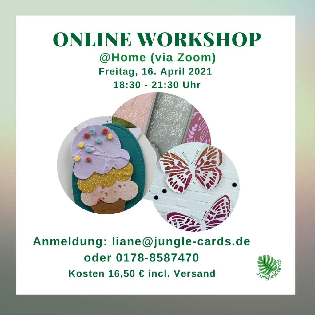 Online Workshop Friedrichsdorf Stampin' Up basteln