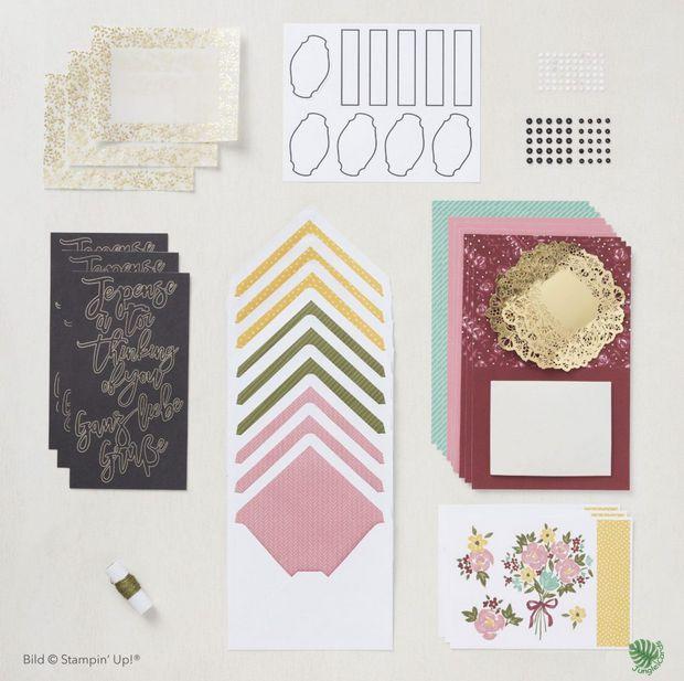 Paper Pumkin, Blumen der Freundschaft