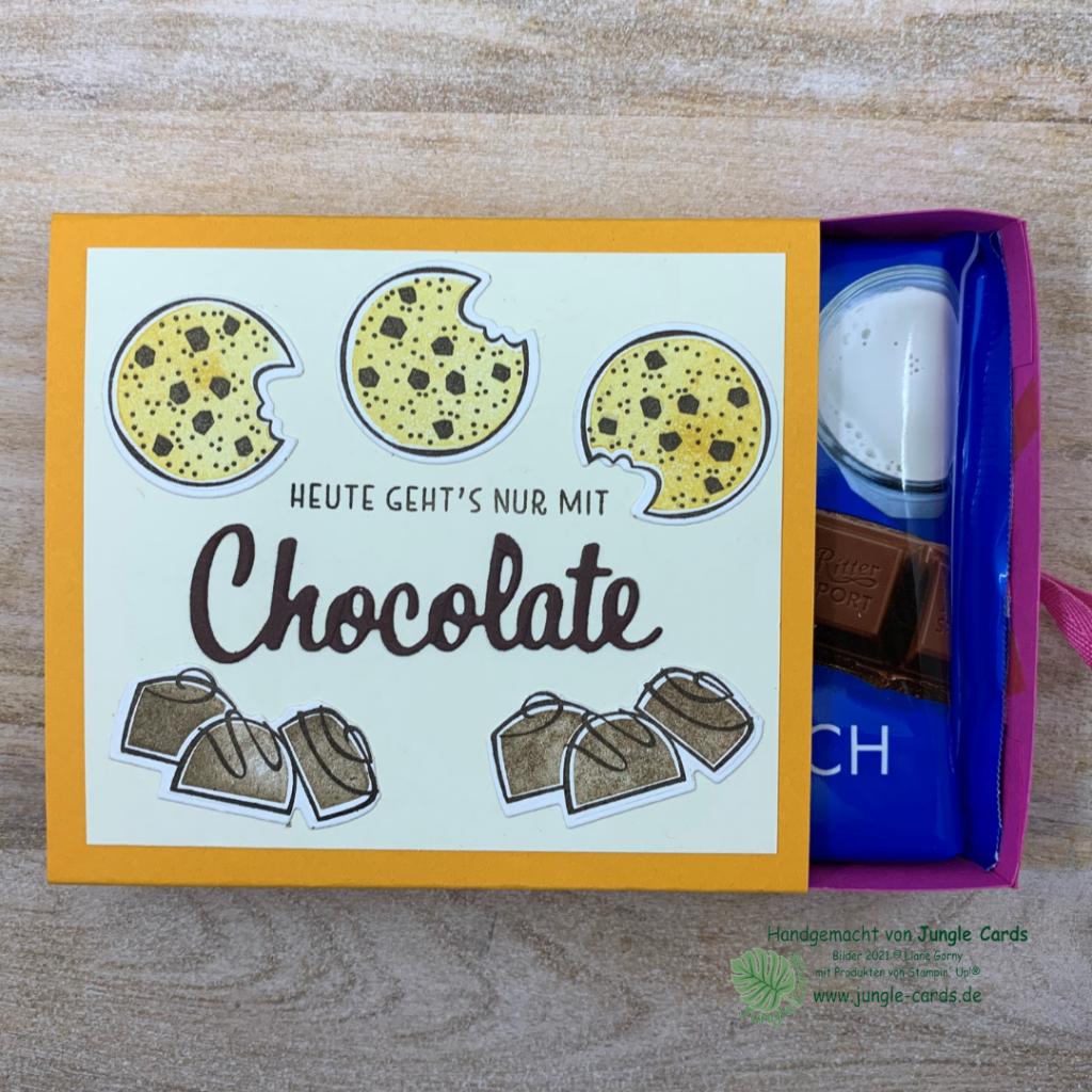 BlogHop, Kennst du schon, Basteln, Friedrichsdorf, neuer Katalog, Stampin' UP!, Nichts geht über,  Besser als, Schokoladenverpackung, Nervennahrung, Motivationhilfe