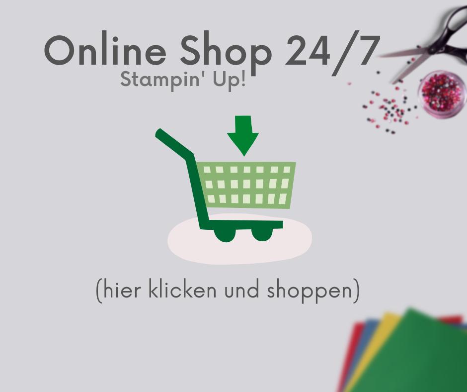 Stampin' Up! Onlineshop Bestellung Onlinebestellung Sammelbestellung Einzelbestellung