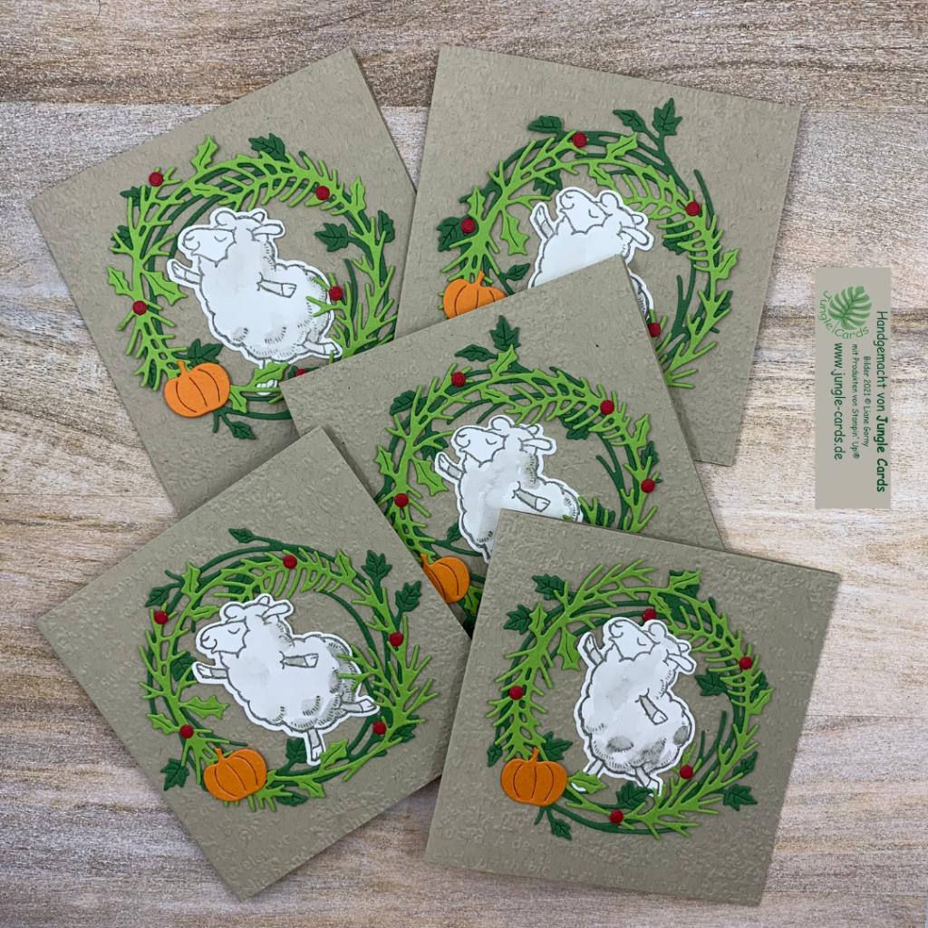 Mini2, Herbst- Winterkatalog, Stampin' Up!, Katalogbeileger