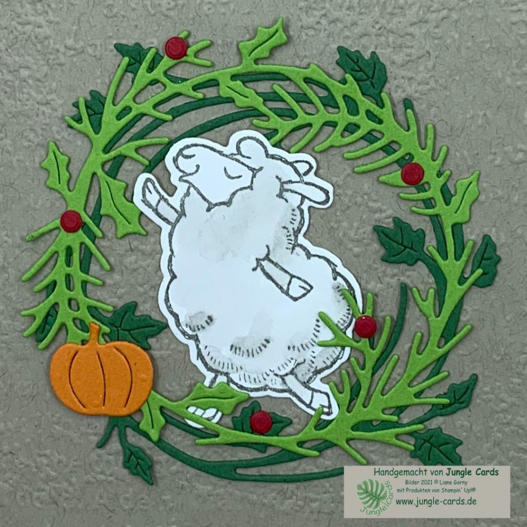 Herbst- Winterkatalog, Stampin' Up!, Katalogbeileger, Sale-A-Bration, Schäfchen