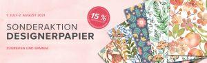 Sonderaktion Designpapier – Spare 15%