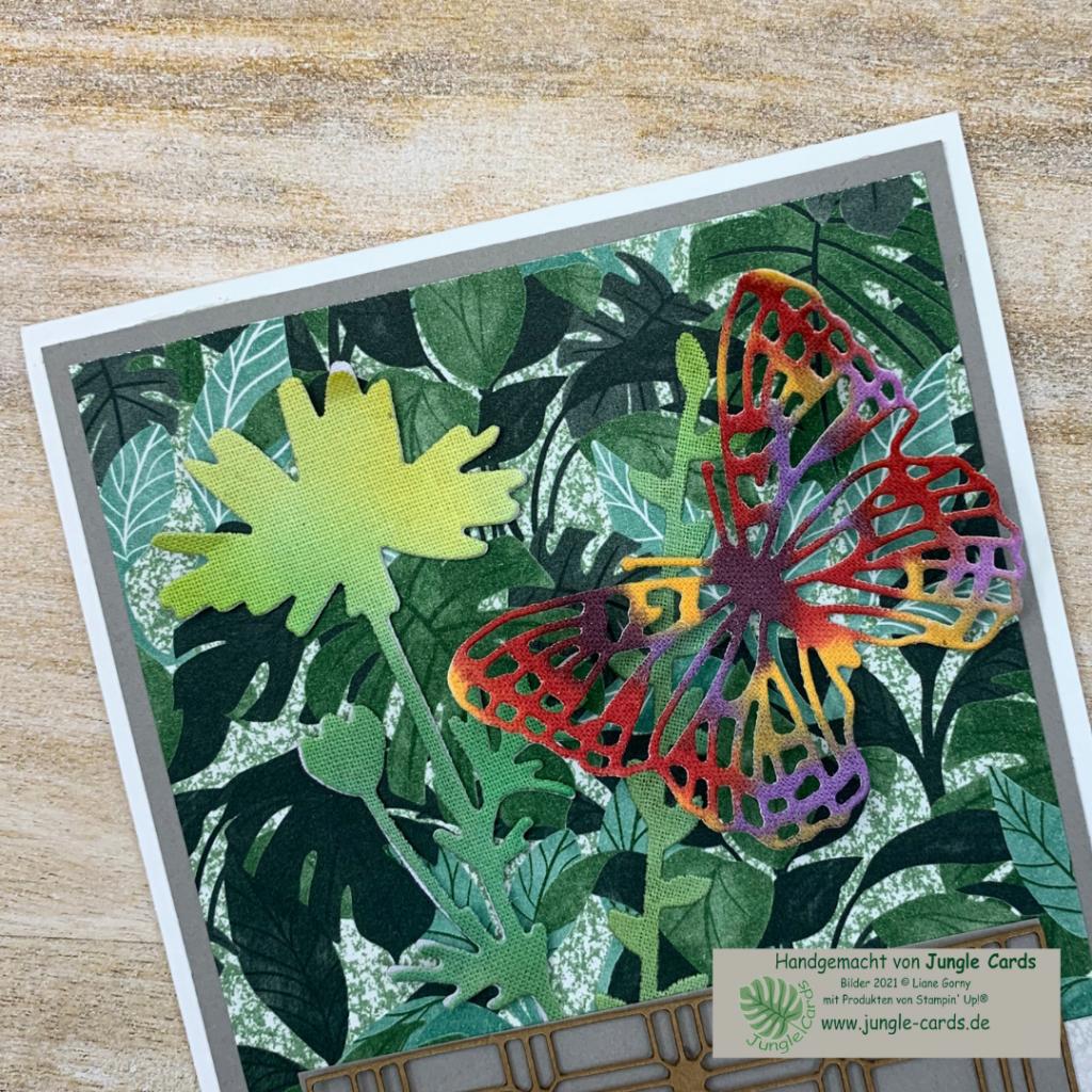 Leinenpapier,  Aquarellfarbe, colorieren mit Blends