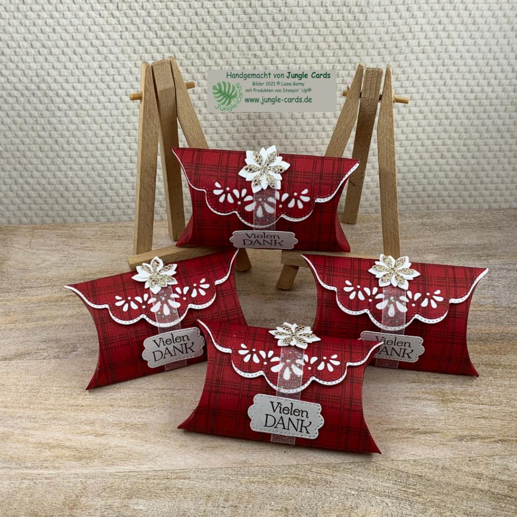 Goodies, kleine Geschenkverpackung, Sammelbesteller,  Sale-A-Bration,  Designapapier weihnachtliche Prints