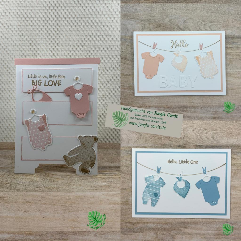 Babykarte mit Produktpaket All for Baby einfacher und besondere Babykarten