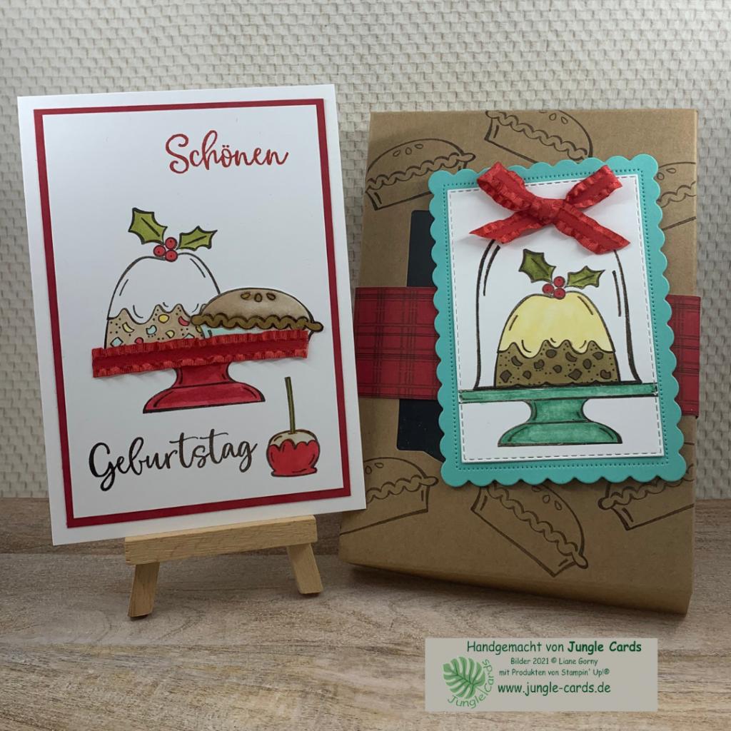 Herbst- Winterkatalog, Sweets & Treats, Geburtstagskarte, Geschenkverpackung, colorieren