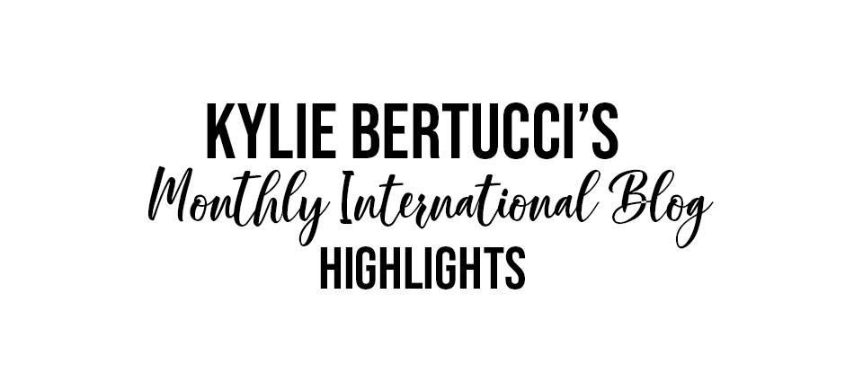 monthly international Blog Highlights