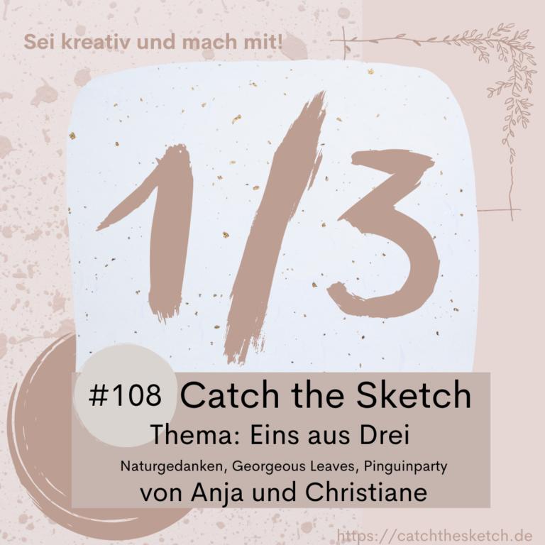 Bastel-Challenge, Catch the Sketch, Jungle Cards, Naturgedanken
